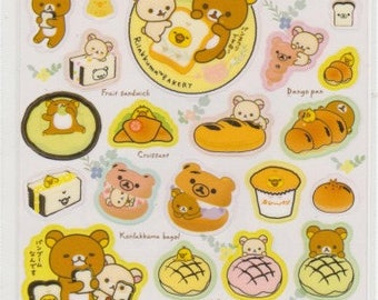 Rilakkuma Stickers - Reference A4424A5301-02