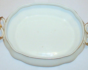 Antique Vegetable Bowl Johnson Brothers England Dating 1900-1909 China Dinnerware Serving Piece