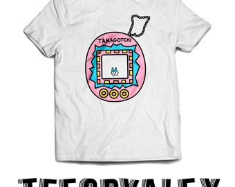 Tamagotchi 90s Throwback Tee