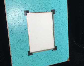 Turquoise Picture frame