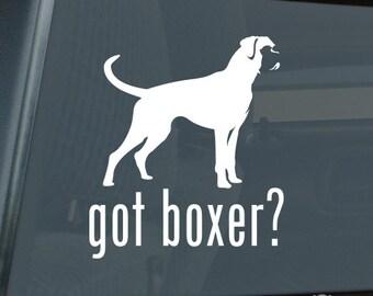 Got Boxer Die Cut Vinyl Sticker - 579