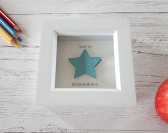Thank You for helping me shine - mini frame