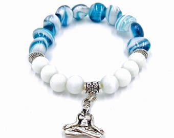 Yoga Bracelet // Spiritual Hippie Jewelry