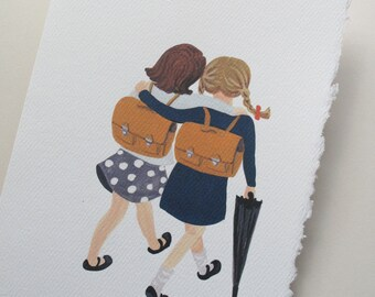 """3 Greeting Cards """"Friends""""  5""""x7"""""""