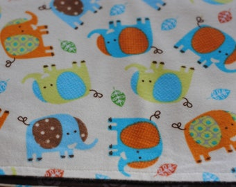 Baby Elephants Swaddling Stroller Receiving Blanket for Baby and Toddler Boy or Girl