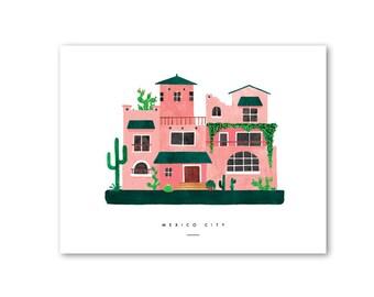 Mexico City POSTER