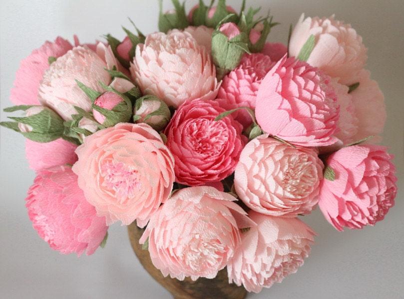 paper flower peonies - Roho.4senses.co