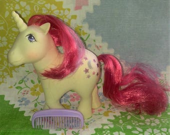 Vintage My Little Pony Moonbeam G1, 80's, A