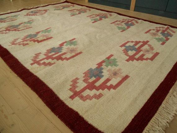 Teppichgrößen vintage schwedische wolle teppich gewebt wolle teppich großen