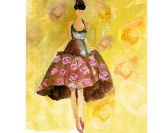 Aries - Rose Dress