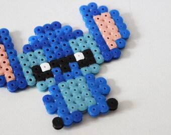 Stitch in pearls hama (pixel art)