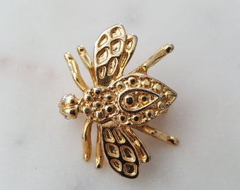 Vintage bee brooch/ bee pin /bee brooch/ bees/ bumblebees/honeybee
