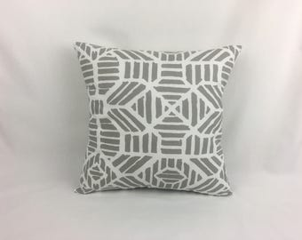 Pillow Cover 20 x 20 - Grey Pillow Cover - Gray Throw Pillow Cover