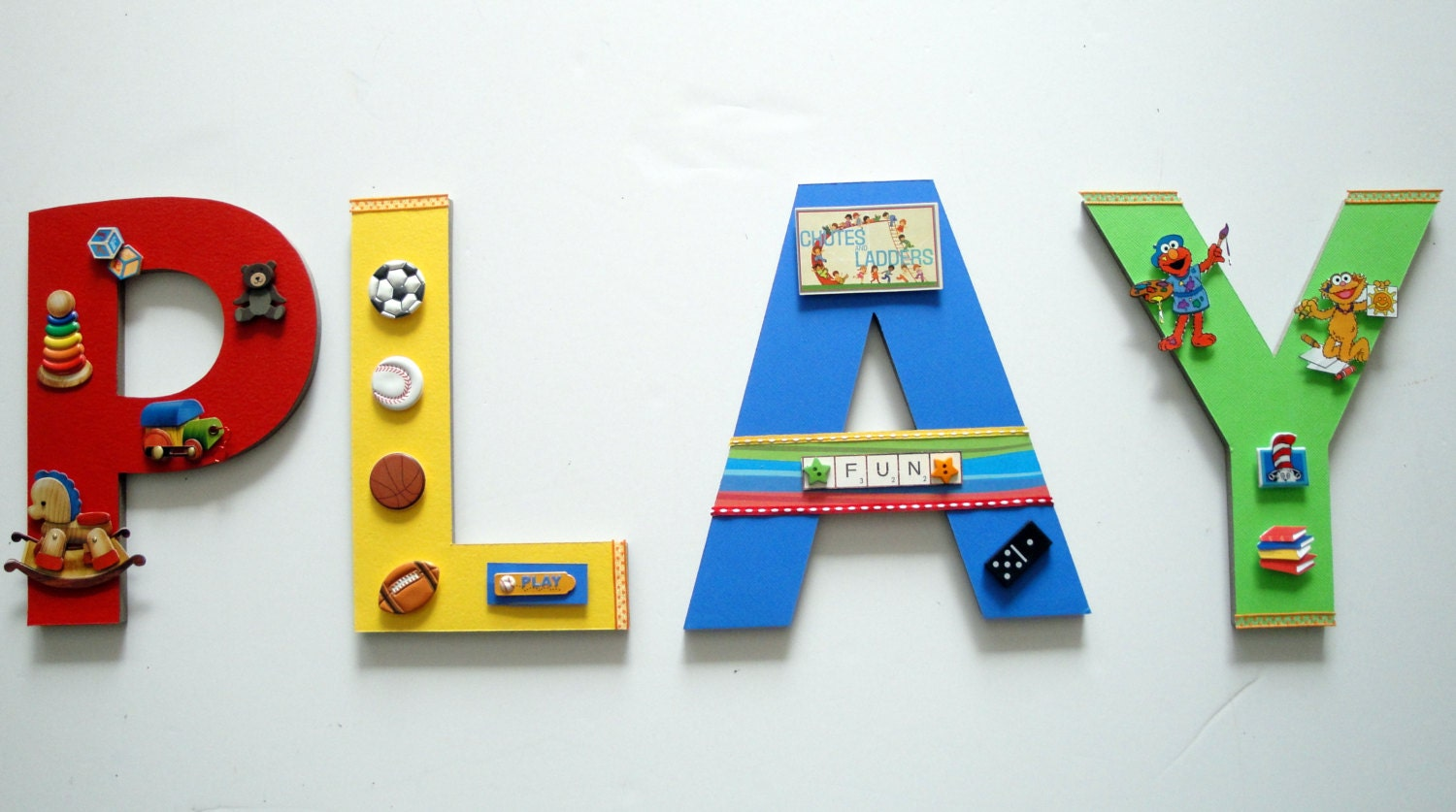 Playroom wall letters custom wall letters game room wall zoom solutioingenieria Image collections