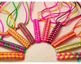 Handmade Ribbon Braided Barrette, Braided Hair Accessory, Braided Ribbon Hair Clip