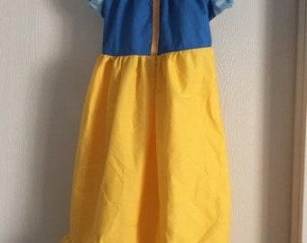 Snow White Inspired Princess Dress----Sizes 6 months-8