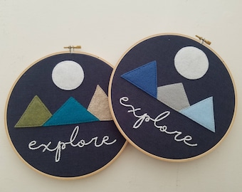 Explore - Hoop Art
