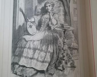 The Bride Lammermoor by Sir Walter Scott Dated 1900