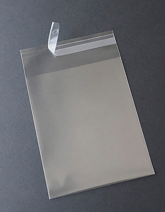 Clear square greeting card bags and notecard sleeves packs of m4hsunfo