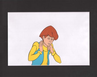 He-Man Masters of the Universe Glitch Animation Cel with COA Filmation 1980s