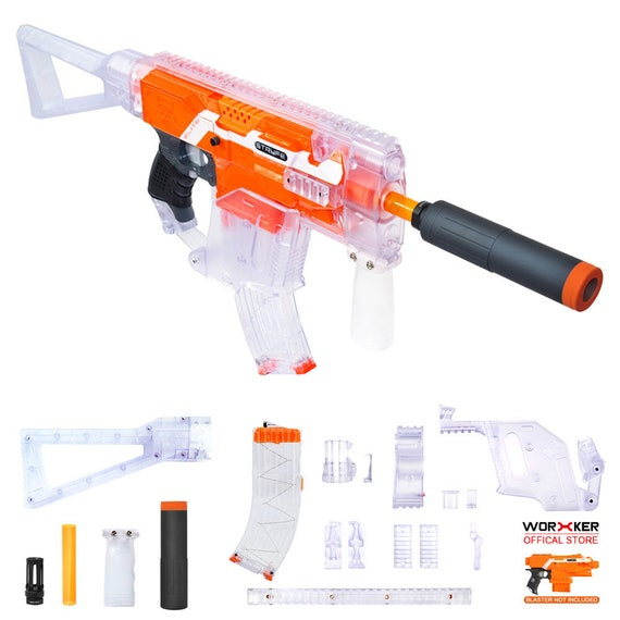 Clear Special Edition Nerf N-Strike Nite Finder EX-3
