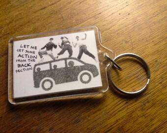 The Hip Hop Minivan Keychain - Beastie Boys Moms