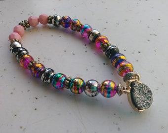 Pretty Stretch handmade bracelet