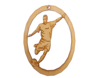 Soccer Ornament, Male - Soccer Ornaments - Soccer Player Gift - Soccer Gifts - Soccer Team Gifts - Soccer Team Gift - Personalized Free