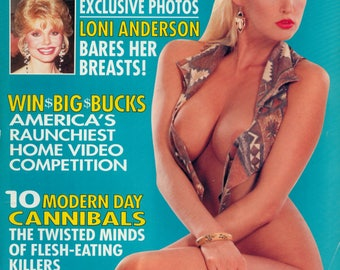 High Society Magazine April 1994 Excellent Plus condition Mature