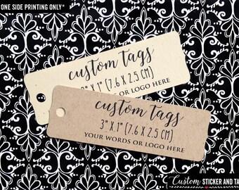 36 custom tags rectangular bracket, personalized wedding favor tag, rustic wedding, product tag, logo tag, welcome bag tag, favor tag (T-87)