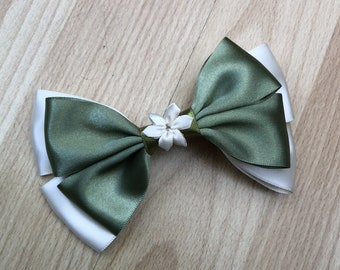Disney Inspired Tiana (Princess and the Frog) Hair Bow
