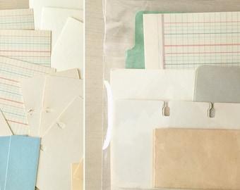 Scrapbook Craft Paper Kits - Ephemera - Journals - Vintage Paper - Smashbook - DIY Kit