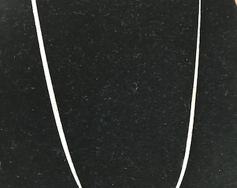 Sterling Marked Silver Chain 18 inches