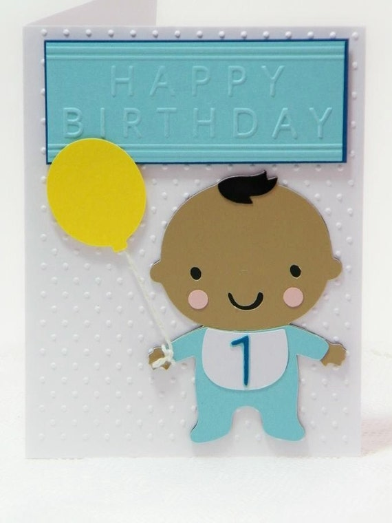 Items similar to ethnic baby card handmade birthday card baby boy items similar to ethnic baby card handmade birthday card baby boy card card for one year old multi cultural card layered card blank card bookmarktalkfo Choice Image