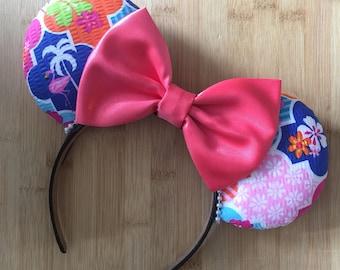 Preppy Flamingo Mouse Ears