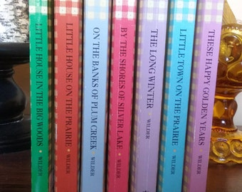 Laura Ingalls Little House on the Prairie  Series Lot of 7