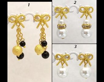 Earrings 'Bow'