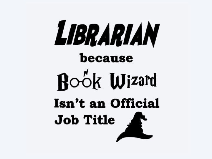 Librarian Book Wizard SVG Cricut SVG Digital Download