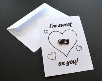 I'm Sweet On You! Pin Card