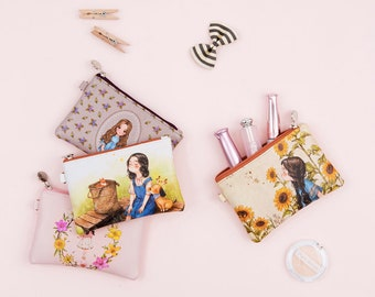 Aeppol Pouch - cosmetic pouch, coin purse, handy pouch, small pouch