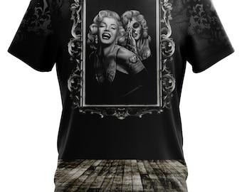 Marilyn Monroe Shirt, Marilyn Tee, Monroe Tshirt, Marilyn Monroe Mirror T-shirt, Marilyn Monroe Picture Frame shirt!
