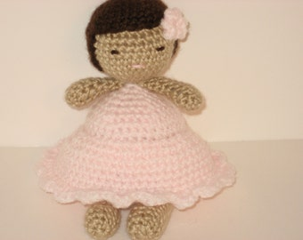 Sale - Amigurumi Crochet Little Girl Doll Pattern Digital Download