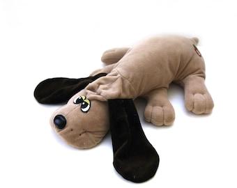 Vintage 80s pound puppy brown large plush stuffed animal