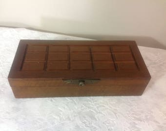 Vintage Man or Women  Jewelry Box Butler Box Jewelry Organizer Dresser Organizer by Royal London