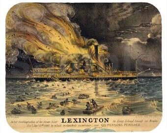 Mouse Pad; Lexington Steamship