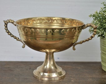 brass ornate bowl etsy