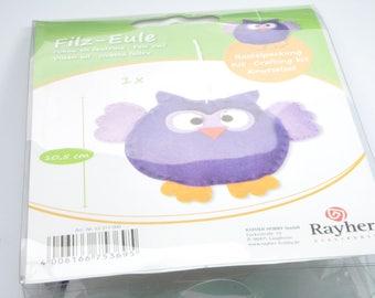KT5 - OWL Kit in purple felt