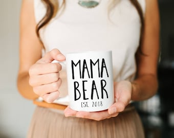 Mama Bear, Mother's Day Gift, Mother's Day, Momma Mug, Mom Mug, New Mom Gift, Mama Bear Mug, New Mom Gift, Mom Gift, Personalized Mug