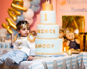 Prince charming baby blue