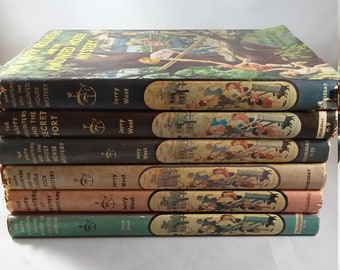 The Happy Hollisters Mystery Book Set, Hardcovers with Dust Jackets, Set of 6